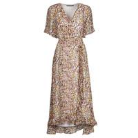 Oblačila Ženske Kratke obleke Freeman T.Porter ROLINE GARDEN Večbarvna