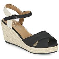Čevlji  Ženske Sandali & Odprti čevlji Tom Tailor NOUMI Črna