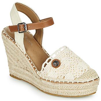 Čevlji  Ženske Sandali & Odprti čevlji Tom Tailor DEB Krem