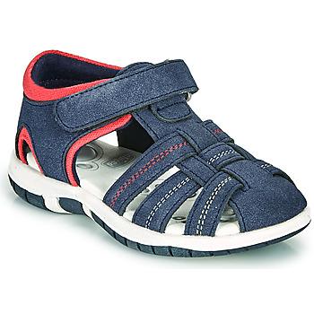 Čevlji  Dečki Sandali & Odprti čevlji Chicco FAUSTO Modra