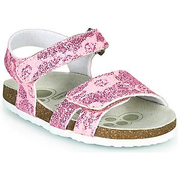 Čevlji  Deklice Sandali & Odprti čevlji Chicco FIORE Rožnata