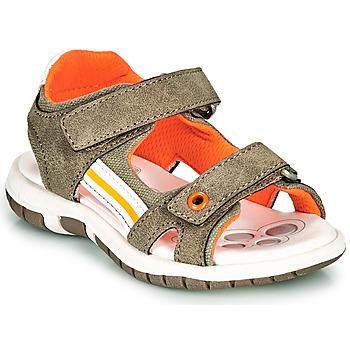 Čevlji  Dečki Sandali & Odprti čevlji Chicco FLAUTO Kaki