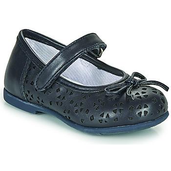 Čevlji  Deklice Balerinke Chicco CARY Modra