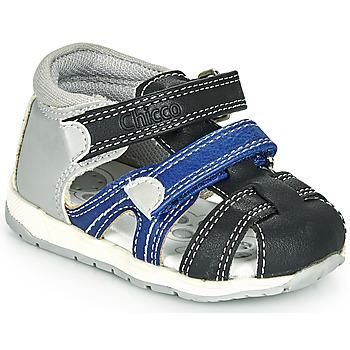 Čevlji  Dečki Sandali & Odprti čevlji Chicco GABRIEL Modra / Siva