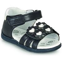 Čevlji  Deklice Sandali & Odprti čevlji Chicco GIOSTRA Modra