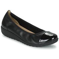 Čevlji  Ženske Balerinke Caprice 22103-026 Črna