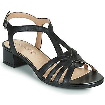 Čevlji  Ženske Sandali & Odprti čevlji Caprice 28201-022 Črna