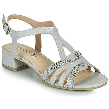 Čevlji  Ženske Sandali & Odprti čevlji Caprice 28201-233 Bež