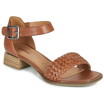 Čevlji  Ženske Sandali & Odprti čevlji Caprice 28208-303 Cognac