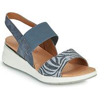 Čevlji  Ženske Sandali & Odprti čevlji Caprice 28306-849 Siva