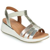 Čevlji  Ženske Sandali & Odprti čevlji Caprice 28308-970 Srebrna