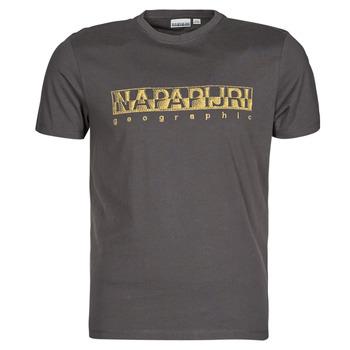 Oblačila Moški Majice s kratkimi rokavi Napapijri SALLAR SS Siva