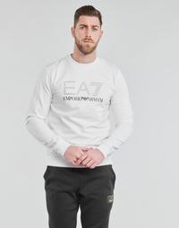 Oblačila Moški Puloverji Emporio Armani EA7 3KPMD7-PJ2SZ-1100 Bela
