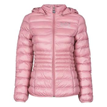 Oblačila Ženske Puhovke Emporio Armani EA7 8NTB23-TN12Z-1436 Rožnata