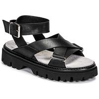 Čevlji  Ženske Sandali & Odprti čevlji Fru.it 6757-100-NERO Črna