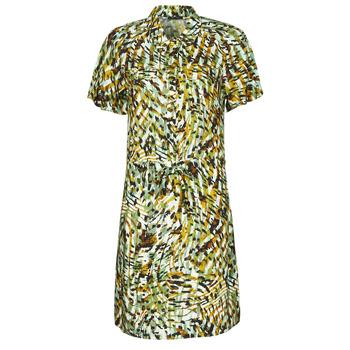 Oblačila Ženske Kratke obleke One Step RAINBOW Zelena