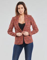 Oblačila Ženske Jakne & Blazerji One Step VINNY Rdeča / Večbarvna