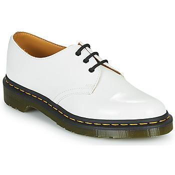 Čevlji  Ženske Čevlji Derby Dr Martens 1461 Bela
