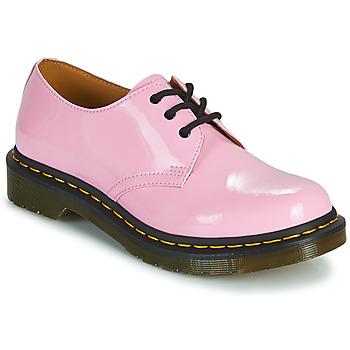 Čevlji  Ženske Čevlji Derby Dr Martens 1461 Rožnata