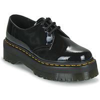 Čevlji  Ženske Čevlji Derby Dr Martens 1461 QUAD Črna