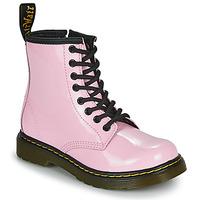 Čevlji  Deklice Polškornji Dr Martens 1460 J Rožnata
