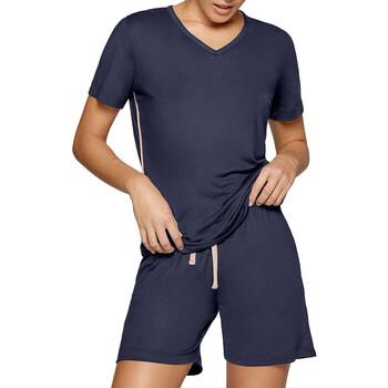 Oblačila Ženske Pižame & Spalne srajce Impetus Travel Woman 8400F84 F86 Modra