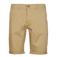 Oblačila Moški Kratke hlače & Bermuda Teddy Smith SHORT CHINO Bež