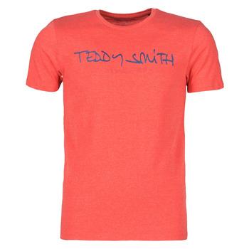 Oblačila Moški Majice s kratkimi rokavi Teddy Smith TICLASS Rdeča