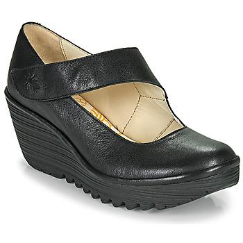 Čevlji  Ženske Salonarji Fly London YASI Črna