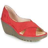 Čevlji  Ženske Sandali & Odprti čevlji Fly London YOMA Rdeča