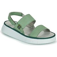 Čevlji  Ženske Sandali & Odprti čevlji Fly London CURA Zelena