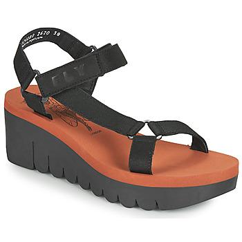 Čevlji  Ženske Sandali & Odprti čevlji Fly London YEFA Črna