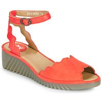 Čevlji  Ženske Sandali & Odprti čevlji Fly London LUME Rdeča