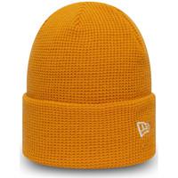 Tekstilni dodatki Moški Kape New-Era Ne colour waffle knit Oranžna