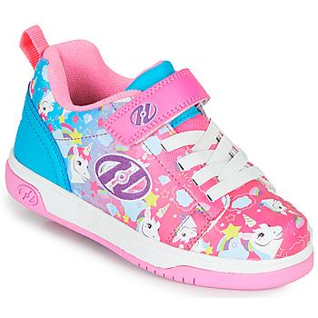 Čevlji  Deklice Čevlji s koleščki Heelys DUAL UP X2 Rožnata / Modra
