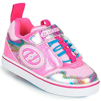 Čevlji  Deklice Čevlji s koleščki Heelys ROCKET X2 Rožnata