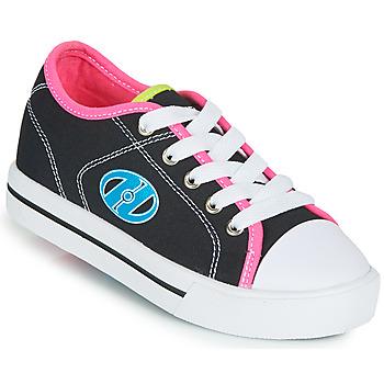 Čevlji  Deklice Čevlji s koleščki Heelys CLASSIC X2 Črna / Rožnata / Modra