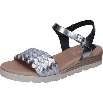 Čevlji  Ženske Sandali & Odprti čevlji Rizzoli Sandale BK606 Srebro