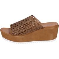 Čevlji  Ženske Sandali & Odprti čevlji Femme Plus BK620 Rjav