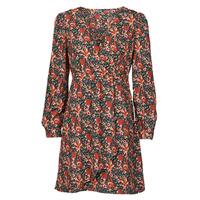Oblačila Ženske Kratke obleke Betty London NOMIM Črna / Rdeča
