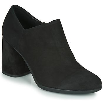 Čevlji  Ženske Salonarji Geox D CALINDA HIGH Črna