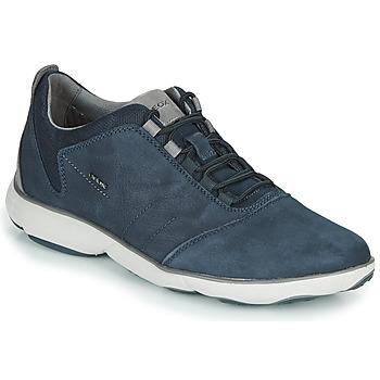 Čevlji  Moški Nizke superge Geox U NEBULA Modra