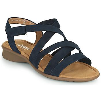 Čevlji  Ženske Sandali & Odprti čevlji Gabor 6606636 Modra