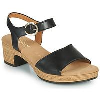 Čevlji  Ženske Sandali & Odprti čevlji Gabor 6272157 Črna