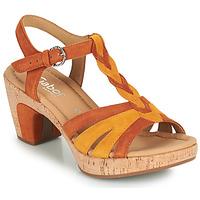 Čevlji  Ženske Sandali & Odprti čevlji Gabor 6273442 Cognac