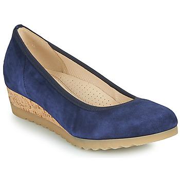 Čevlji  Ženske Balerinke Gabor 6264146 Modra