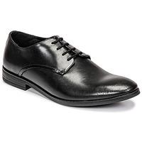 Čevlji  Moški Čevlji Derby Clarks STANFORD WALK Črna