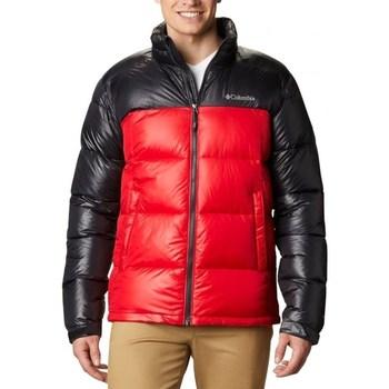Oblačila Moški Puhovke Columbia Pike Lake Jacket Črna, Rdeča