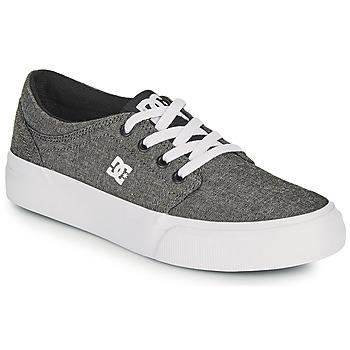 Čevlji  Dečki Skate čevlji DC Shoes TRASE B SHOE XSKS Siva