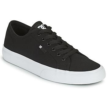 Čevlji  Moški Skate čevlji DC Shoes MANUAL Črna / Bela